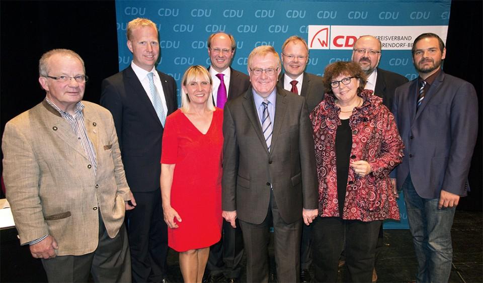 Der alte und neue geschäftsführende CDU Kreisvorstand