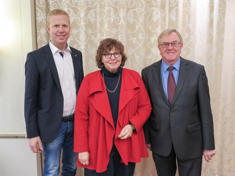 Henning Rehbaum MdL, Astrid Birkhahn MdL, Reinhold Sendker MdB