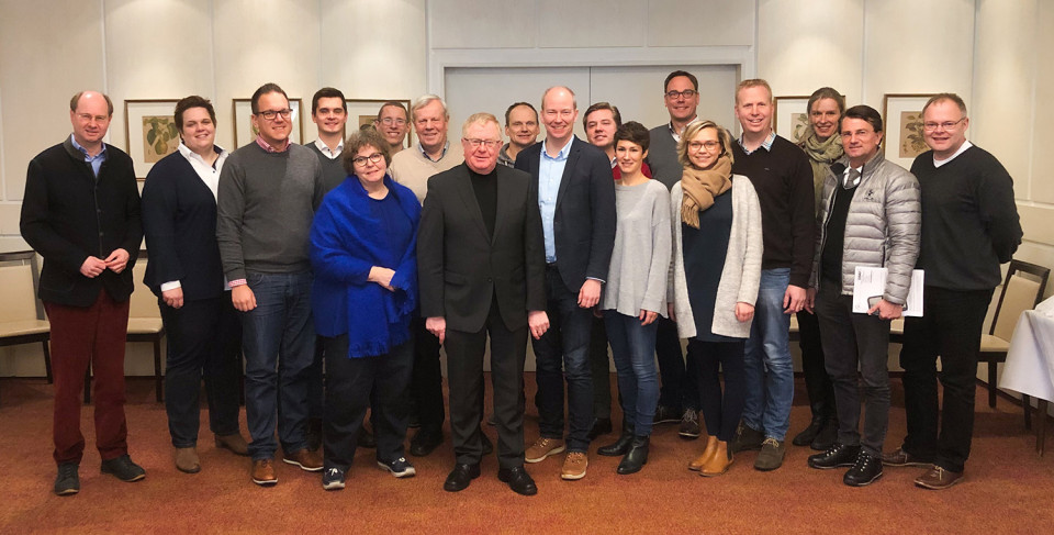 Die Mitglieder des CDU Kreisvorstands