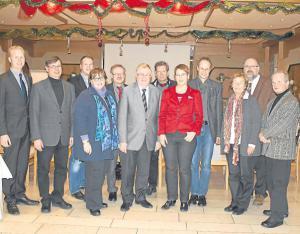 CDU und Evangelische Kirche bleiben im Gespräch. Diesmal fand der Gedankenaustausch mit der neuen Superintendentin Maike Friedrich (5. v. r.) in Lette statt.